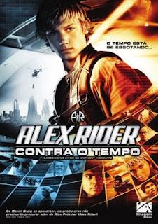Filme Poster Alex Rider Contra O Tempo DVDRip Dublado