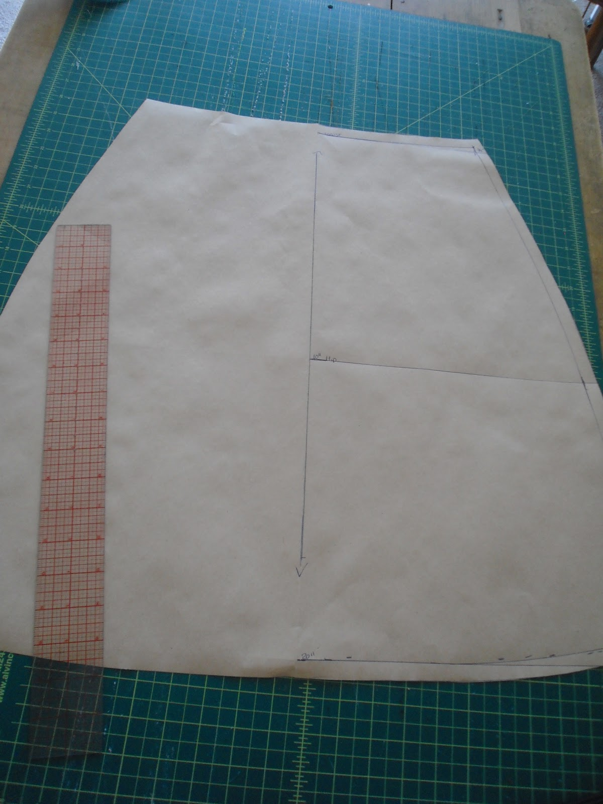 How To Make An A Line Skirt 3