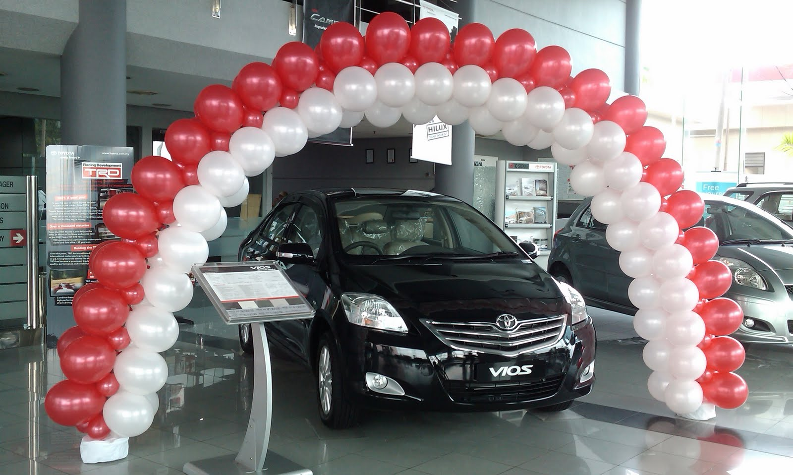 ... Consultancy (001918874-D): Balloon Decoration for Toyota Showhouse JB