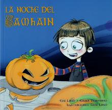 """Libro, """"La Noche del Samhain""""."""