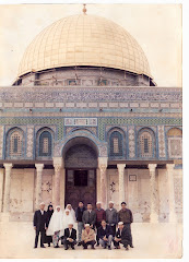Hadapan Masjid `Umar ( As Sakhrah - Dome of The RocK ), Baitul Maqdis