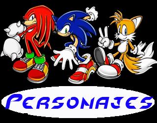 todos los personajes de sonic