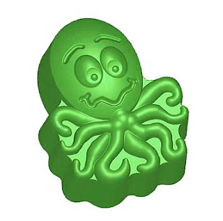 Ollie Octopus Soap Mold from Mold Market