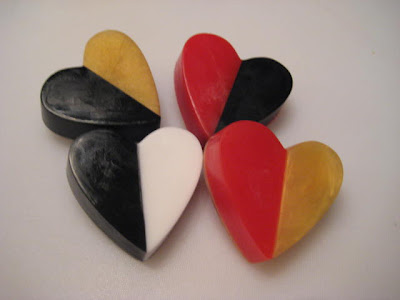 Divided Love Valentine Heart Soaps