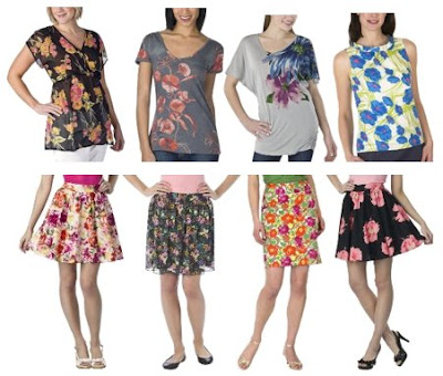 Fashion Skirts  Tops on Shelby Floral Print Tote   24 99 Tops And Skirts