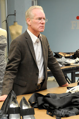 Tim Gunn Looks Concerned