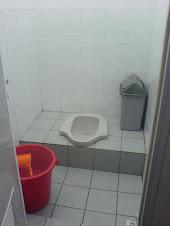 Toilet bersih.