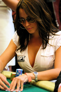 Sexy poker player at the table funny meme