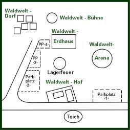 LAGEPLAN WaldWelt-Resort