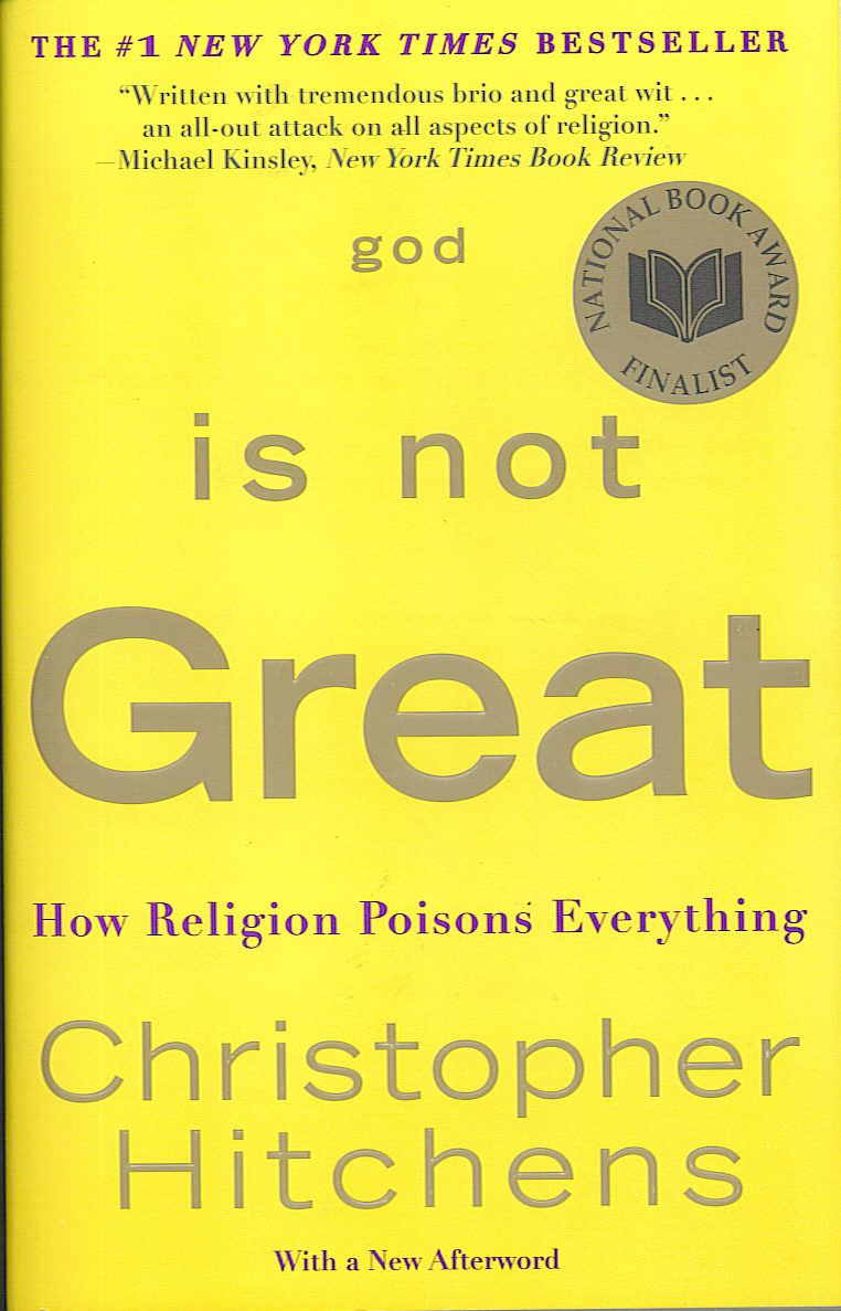 christopher hitchens essays god is not great With essays by christopher hitchens,  christopher hitchens (signed)  by the author of god is not great.