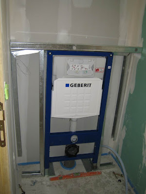 Installation wc suspendu geberit for Pose wc suspendu geberit