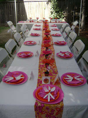 Decorations For Bridal Shower Tables