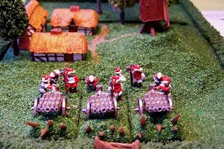 Games, workshop, cannon, artillery, empire, warmaster, warhammer, painted, hellblaster, organ gun