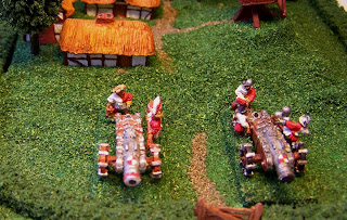 Games, workshop, cannon, artillery, empire, warmaster, warhammer, painted
