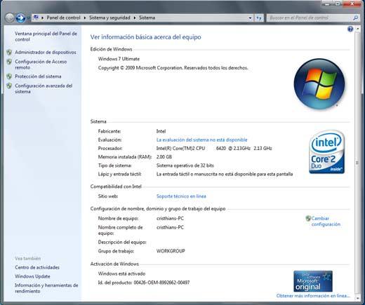 descargar windows 7 gratis en espaol completo con licencia original