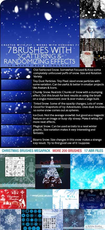 Christmas brushes MegaPack-Christmas-Brushes