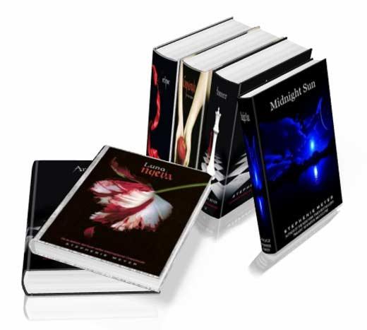 Libros Saga Crepúsculo - Stephenie Meyer