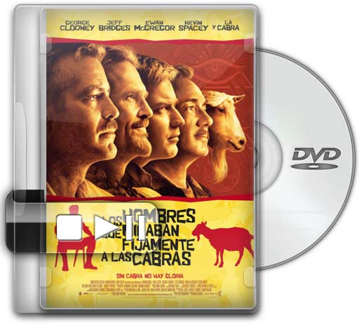 Hombres de Mentes (The Men Who Stare at Goats) (Español Latino) (DVDRip) (2010)