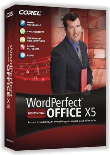 Corel WordPerfect Office Professional X5 v15.0.0.357