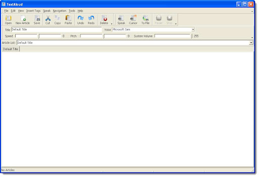 TextAloud v3.0.8 - Tu PC lee por ti