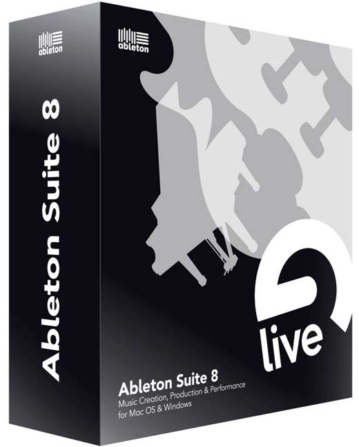 Ableton Suite v8.2 (Multilenguaje) Producción Musical)