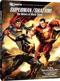 Superman / Shazam El Retorno de Black Adam (Subtitulos Español) (DVDRip) (2010)
