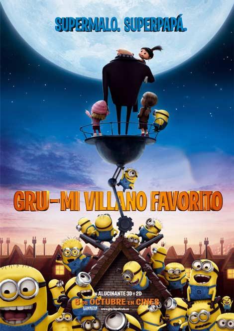 Gru, Mi Villano Favorito (Subtitulos Español) (DVDRip) (2010)
