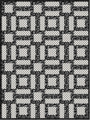 Fabric Mom s Blog: Easy Black and White Quilt Pattern