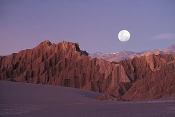 la vallée de la lune désert d'atacama