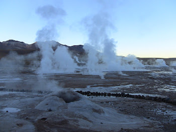 différentes formes de geysers