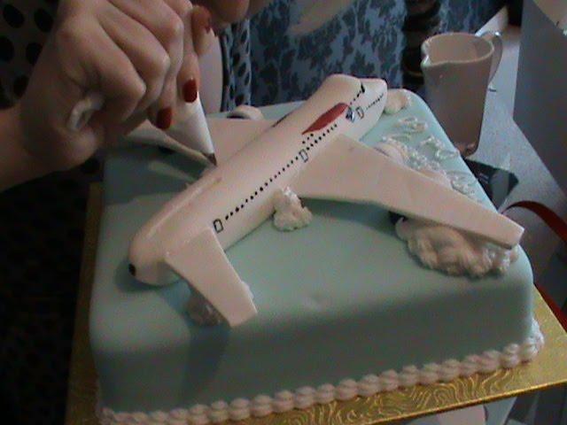 Restoration Cake Principles of Pleasure Aeroplane Cake