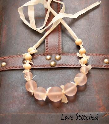 jcrew necklace knockoff tutorial