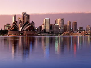 Sydeny Reflection : Australia || Top Wallpapers Download .blogspot.com