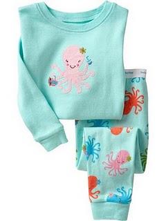Gap Pyjamas (Octopus)