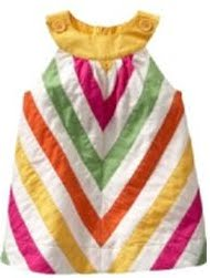 Gap Colorful Dress (Stripe)