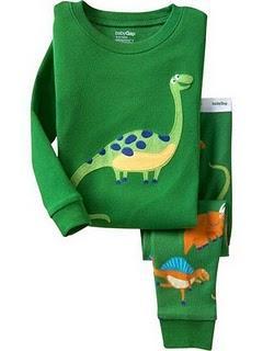 Gap Pyjamas (Green Dino)
