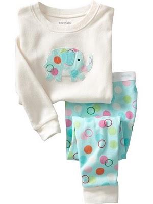 Gap Pyjamas ( Buble Elephant)