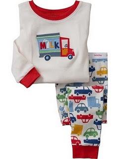 Gap Pyjamas (Milk)