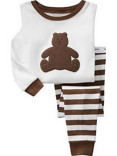 Gap Pyjamas (Choc Bear)