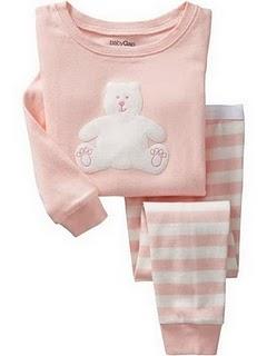 Gap Pyjamas (Pink Bear)