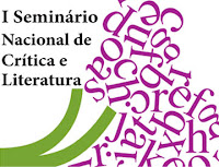I Seminário Nacional de Crítica e Literatura, logomarca, primeira edição