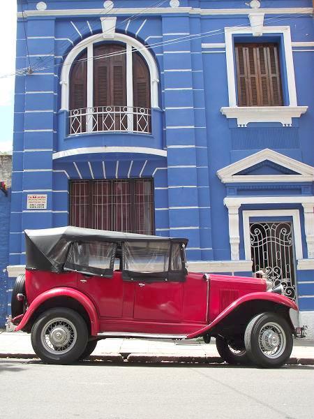 foto de um Chevrolet 1931 estacionado em Porto Alegre