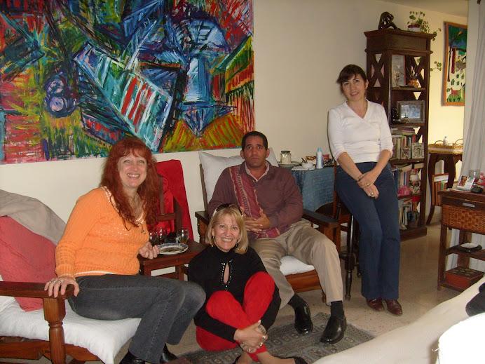 Con Omar, Marita,Marga