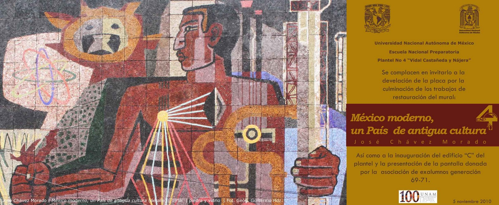 Blog prepa 4 vista del rector jos ram n narro robles for Mural prepa 1 uaemex