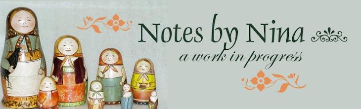 Notes by Nina
