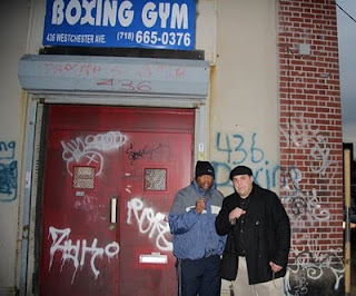 Aaron Davis and Michael Natalino outside of John's Boxing Gym in ...