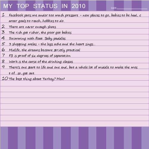 Random wanderings top ten 2010