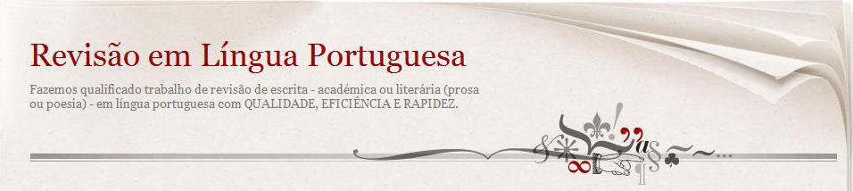 revisao em lingua portuguesa