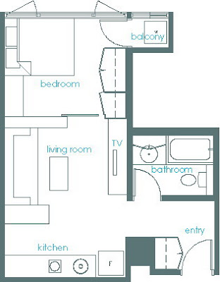 Apartment Plans 3 Bedroom