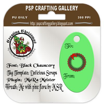 http://pspcraftinggallery.blogspot.com/2009/11/christmas-gift-tag.html